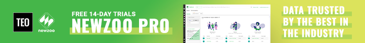 Newzoo Pro - Get the data industry leaders trust