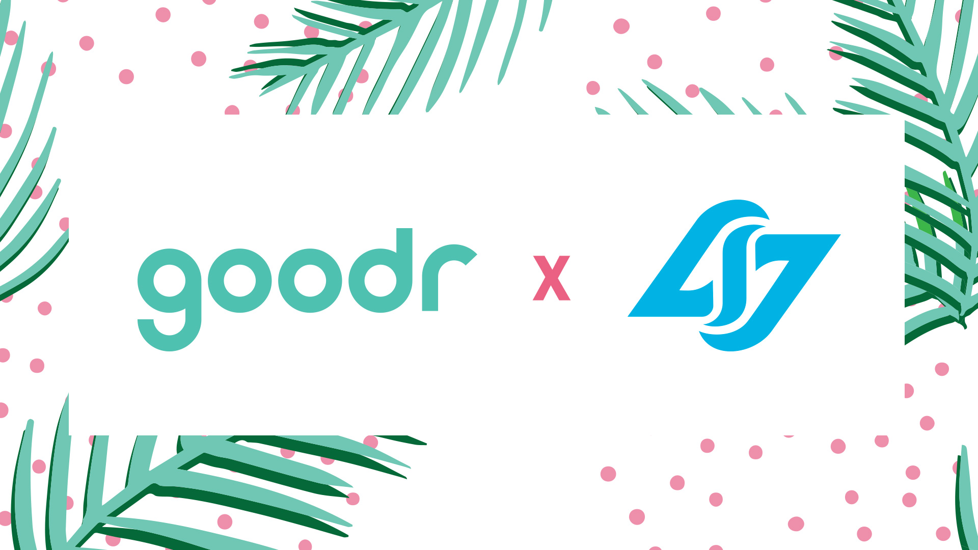 CLG x goodr partnership